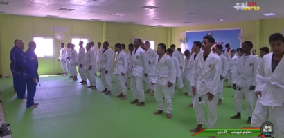 Jiu-Jitsu Class at the refugee camps in Jordan